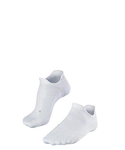 FALKE Damen, Golfsocken GO5 invisible - Funktionsfaser, Golfstrümpfe ohne Baumwolle, Weiß (White 2000), 39-40, 1er Pack