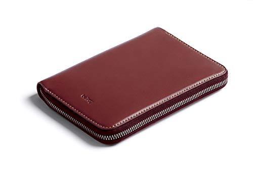 Bellroy Travel Folio (2 Reisepässe, 4-8 Karten, Bordkarten, Bargeld, Stift) - Red Earth - RFID