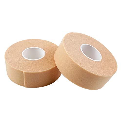 MERIGLARE 2 Pcs Heel Protector Blister Tape Adhesive Rolls - Skin Color