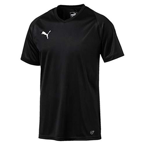 PUMA Camiseta para Hombre Liga Jersey Core, Hombre, 703509_03, Puma Black-puma White, XXX-Large