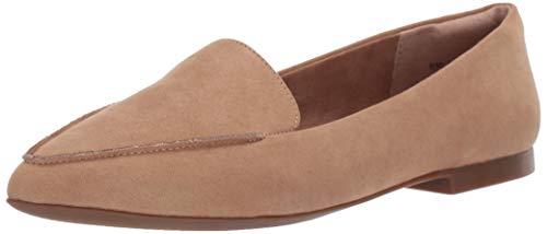 Amazon Essentials Women's Loafer Flat, Tan, 9.5 B US