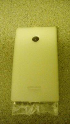 Pro-Tec Clip-On TPU Hülle Case Cover & Bildschirmschutzfolie im Set für Nokia Lumia 435 - Transparent Matt