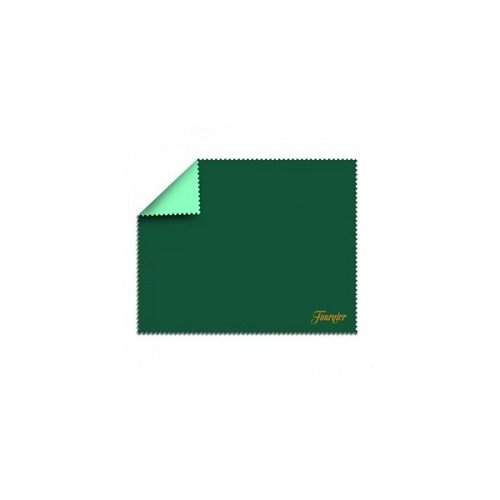 Fournier, 126003, Kartenspiel-Tischdecke, Kartenspiel-Auflage, aus Vlies, Unterseite gummiert, Maße: 45 x 0,3 x 50 cm, Farbe: grün