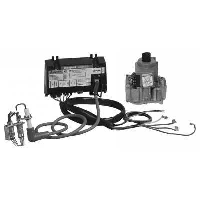 Honeywell Intermittent Pilot Retrofit Kit - Black and White - Y8610U4001/U Y8610U-8