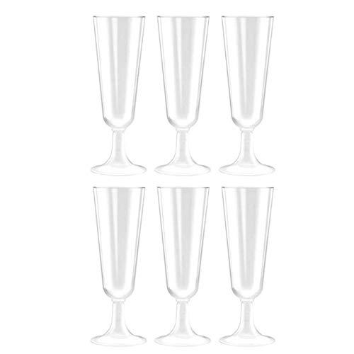 NL Vino Tinto de Vidrio, plástico desechable cáliz Duro Copa de Aire Rojo Vino de...