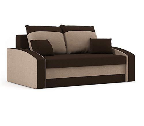Sofini Sofa Hewlet mit Schlaffunktion! Best Sofa! 2- Sitzer Sofa! (Haiti 5+ Haiti 4)