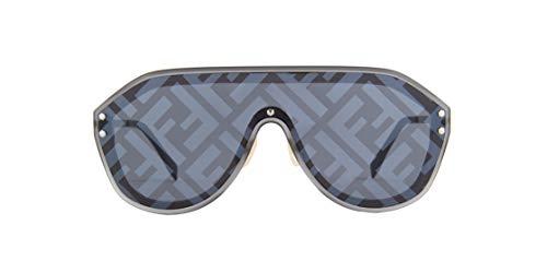 Authentic Fendi FF M 0039 GS 0V81/MD Dark Ruthenium Black Sunglasses