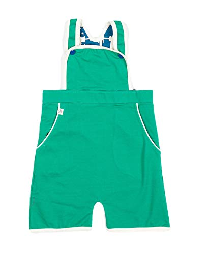 Alba Baby Baby Boy Latzhose GERT kurz Alpine Green 98