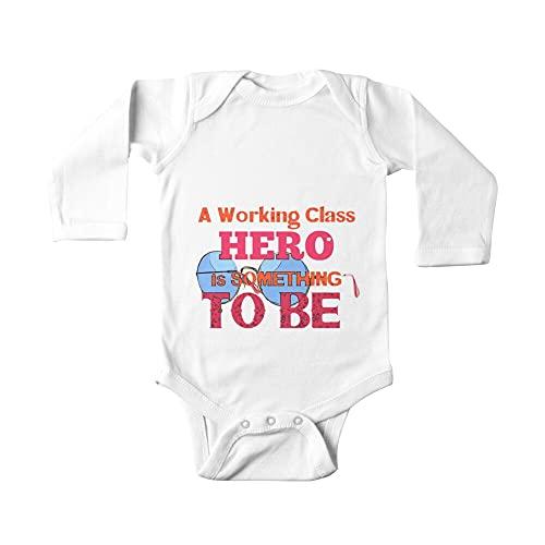 Huang Gafas de héroe de clase trabajadora bebé de una pieza