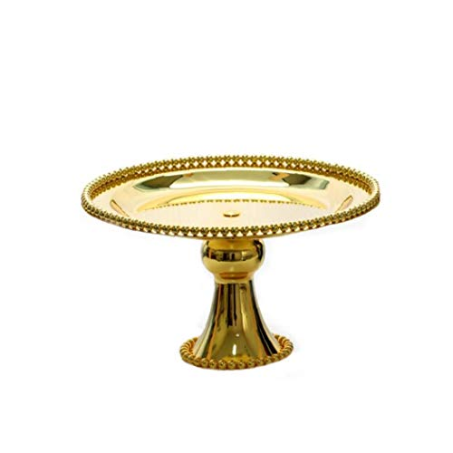 Iron Cake Display Stand Gold 15cm Wedding Birthday Supplies Fruit Cupcake Stand Holder Iron Dessert Stand Household Product Accessories
