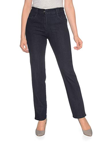 Bexleys Woman by Adler Mode Damen Jeans Sandra - Better Improved Fit Authentic Blue 21,5
