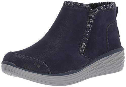 Ryka Women's Namaste Ankle Boot, Navy, 8 M US