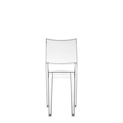 Kartell Set 2 La Marie Transparent Crystal Chair