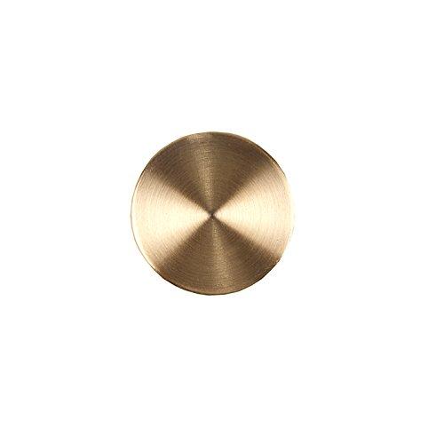 Madura 11187 eindstuk cilindrische gordijnroede Alma Gold 1,9 cm