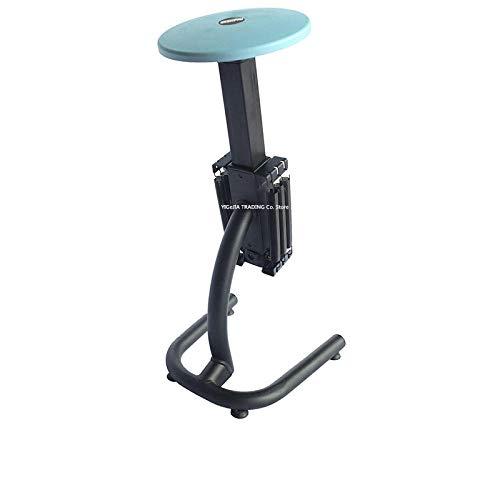Warmwin Heim-Fitnessgeräte Sissy Squat-Gerät,das für Aerobic-Beinübungen zu Hause verwendet Wird,mit 6-Gang-Druckanpassungsfunktion-blau