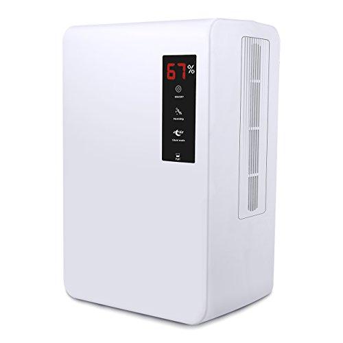 VicTsing Deshumidificador para Ambientes, 3000 ml, Pantalla LED, Apagado automático, Silencioso,...