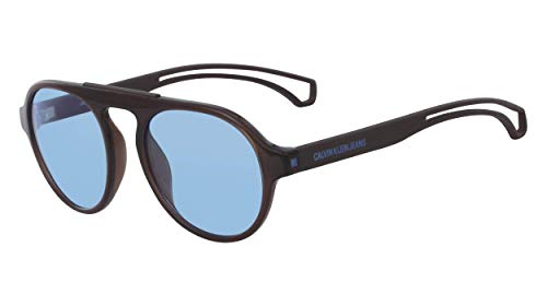 CALVIN KLEIN JEANS EYEWEAR CKJ19502S Gafas de Sol, marrón, 5219 Unisex Adulto
