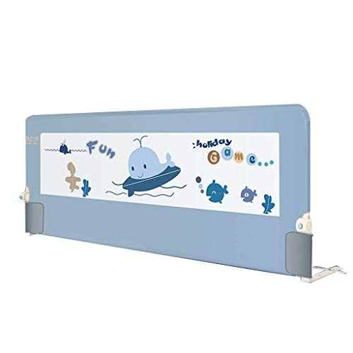 Bed Rail/Bed Rail Fällbar 120cm Easy Fit Säkerhetsskena För Småbarn/Barn/Anti-Fall Bed Guard Bed Bed Rail Bed Staket Barn säng Guide Flera storlekar och färger Unilateral