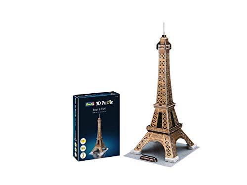 Revell- Torre Eiffel, Altura 47cm 3D Puzzle, Multicolor (00200)