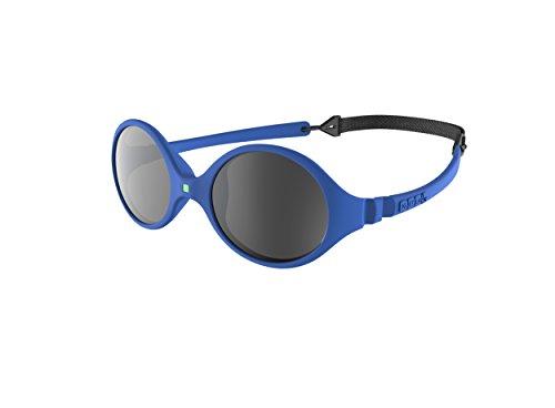 Ki Et La Ki ET LA - Babysonnenbrille im Stil Diabola - 100% unzerbrechlich - Königsblau- 0-18 Monate