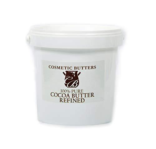 Mystic Moments Burro di Cacao Raffinato, 100% Puro e Naturale, 1 kg