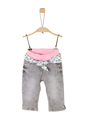 s.Oliver Junior Baby-Mädchen Jeans, 92Z1 Grey Denim Stretch, 86
