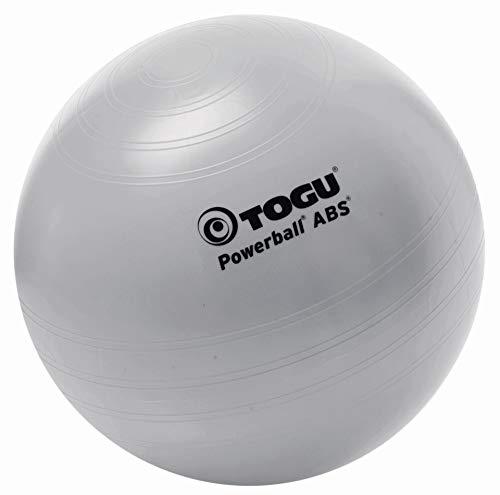 Togu Gymnastikball Powerball ABS (Berstsicher), silber, 65 cm