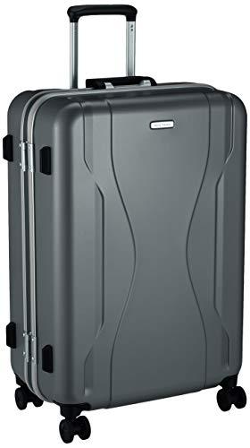 [ワールドトラベラー] スーツケース 日本製 コヴァーラム ベアリング入り双輪キャスター 73L 65 cm 5.3kg ガンメタリック