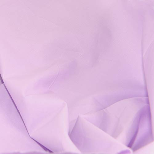 Pre-Cut Quilting Cotton Fabric Voilet Color,Good Quality Craft Cloth,DIY for Sewing Crafting 61' by 1 Yard Rose Flavor