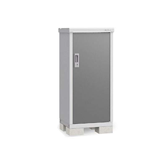 イナバ物置 BJX/アイビーストッカー BJX-065C 全面棚タイプ 『屋外用ドア型収納庫 DIY向け 小型 物置』 PG(プレミアムグレー)