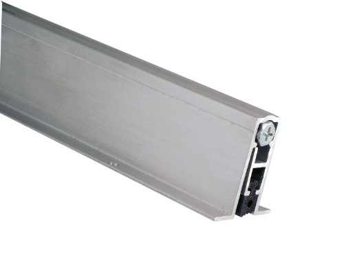 "Pemko Aluminum Automatic Door Bottom, Mill Finish, Sponge EPDM, 9/16""W x 36'L x 1-3/8""H"