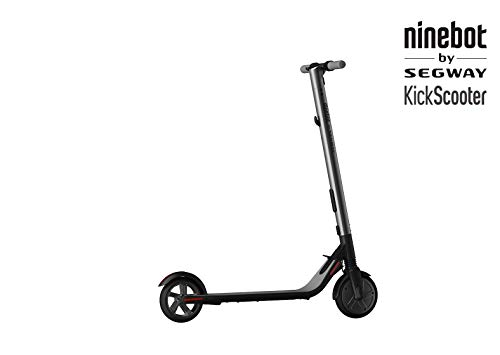 Ninebot by Segway ES1 Folding Electric Scooter, maximum speed 20km / h, Autonomy 25km, Black