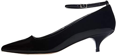 find. Zapatos de Charol con Puntera para Mujer, Negro (Black), 38 EU