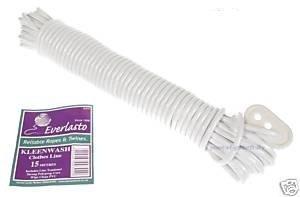 Kleenwash Corde à linge 15 m