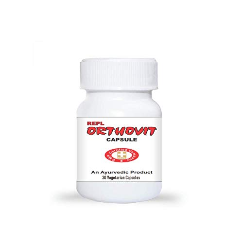 Herbal Aid Orthovit Capsules for Joint & Muscles Health - 30 Capsule Pack
