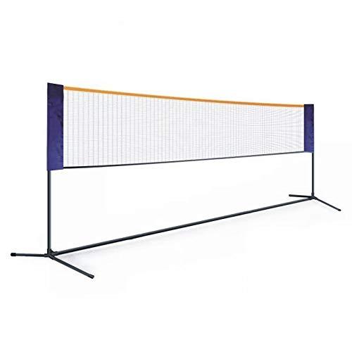 Ljings Red De Tenis Ajustable Alturas para Voleibol, Bádminton,Bolsa Incluida,Soporte De Red Plegable con Poste,Starter Net, (Tres Tamaños),3.1m