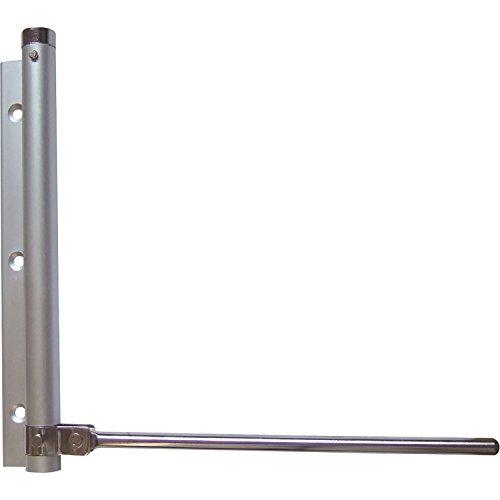 Stangen-Türschließer | Aluminium silber eloxiert | 175 mm | 1 Stück