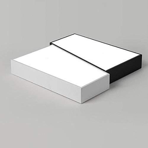 Preisvergleich Produktbild XYJGWXDD LED-Leuchte,  Unterputz-Leuchte,  gebürstete Nickel-Leuchte,  Küchenleuchten,  quadratische Deckenleuchte für Badezimmer,  24W 32W 36W (Farbe: 50 * 50 cm - Promise Dimming)