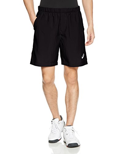 ASICS Herren Tennis Shorts, Performance Black, L