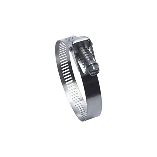 Precision Brand - 47895 QR248HS Quick Release All Stainless Worm Gear Hose Clamp, 1-3/4' - 16' (Pack of 10)