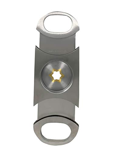 Cigar Boulevard Perfect Cigar Cutter Star Stainless Steel.Up to 80 Ring Gauge.