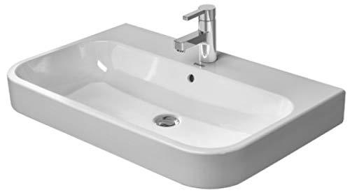 Duravit Happy D.2 Möbelwaschtisch weiß 650 mm, 650 x 505 mm, mit Wondergliss, 23186500271
