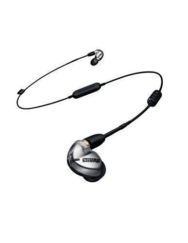 SHURE ワイヤレスイヤホン BT1シリーズ SE425 Bluetooth カナル型 高遮音性 ワイヤレスケーブル/リモコン・マイク付きケーブル付属 シルバー SE425-V BT1-A【国内正規品】