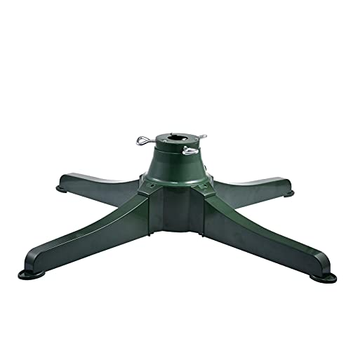 Rotating Christmas Tree Stand, Heavy Duty Tree Stand Base, Detachable Artificial Christmas Tree Base, Revolving Tree Holder Base, for Christmas Trees up to 9.8ft