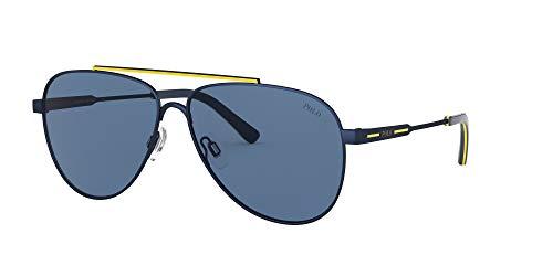 POLO Herren 0PH3126 Sonnenbrille, Blue/Blue, 60