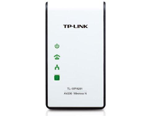 TP-LINK TL-WPA281 300Mbps Wireless N Powerline Adapter, 2.4Ghz N300 Adapter, 802.11b g n