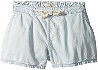 ロキシー Roxy Kids キッズ 女の子 ショーツ ハーフパンツ Light Blue Fearless Flyers Denim Shorts [並行輸入品]