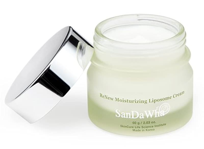 できた十分社交的SanDaWha ReNew Moisturizing Liposome Cream(60g)