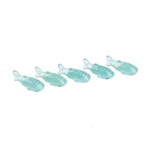 5 stücke spot shark fisch miniatura puppenhaus garten hause bonsai dekoration mini spielzeug miniatur pvc handwerk ornamente micro decor diy