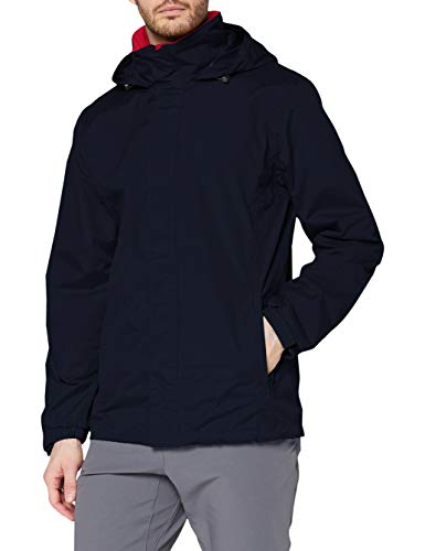 Regatta Ardmore Jacket, Bleu (Bleu Marine/Rouge Classique), XL Homme
